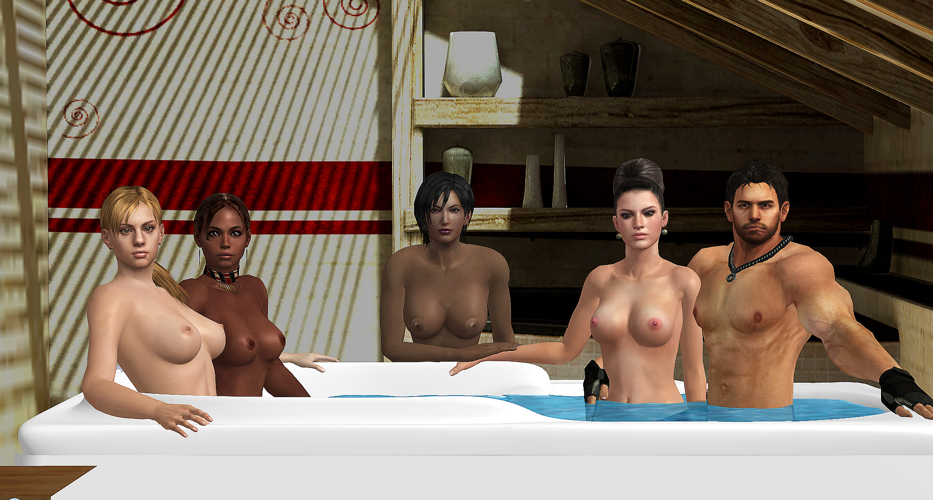 3d sex villa resident evil models sex galleries