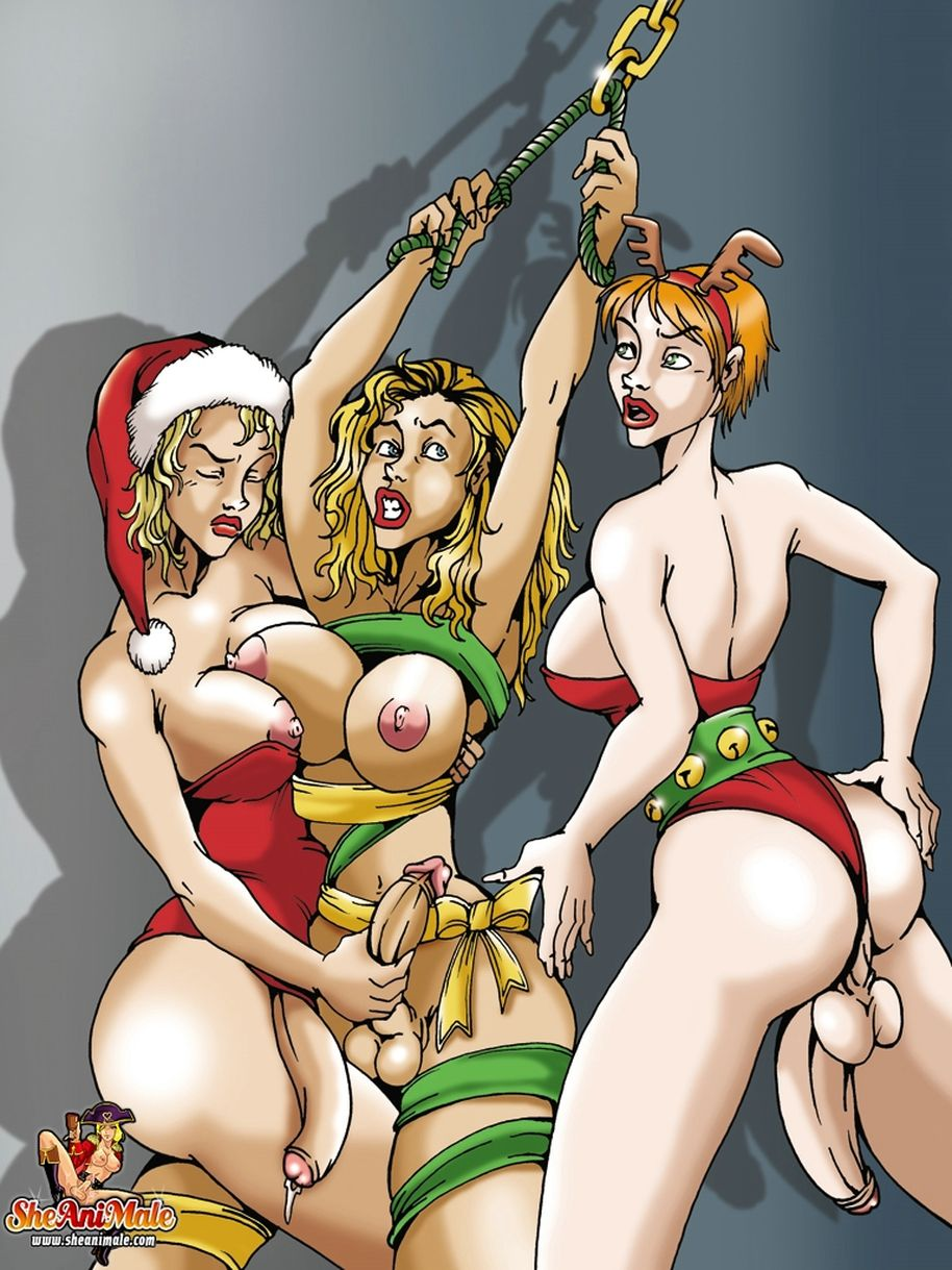 Sexy elf fucked santa sex video