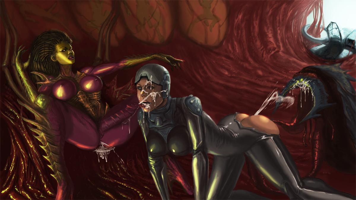 Смотреть порно картинки в игре starcraft ii 10 фотография