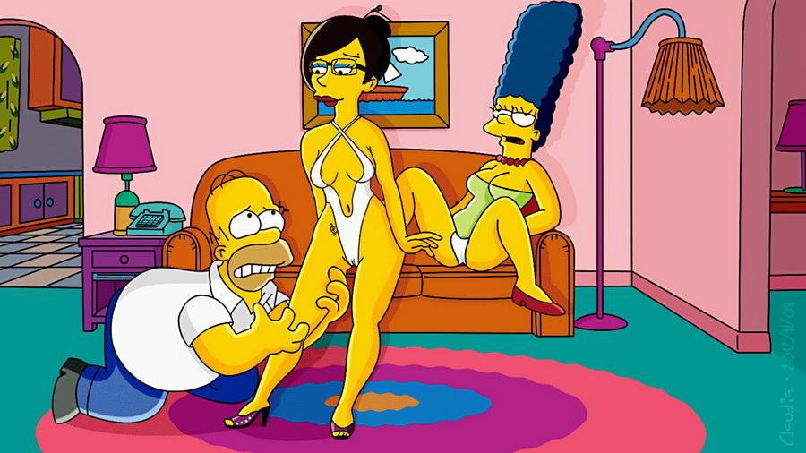 Симпсоны играть бесплатно секс 16 фотография