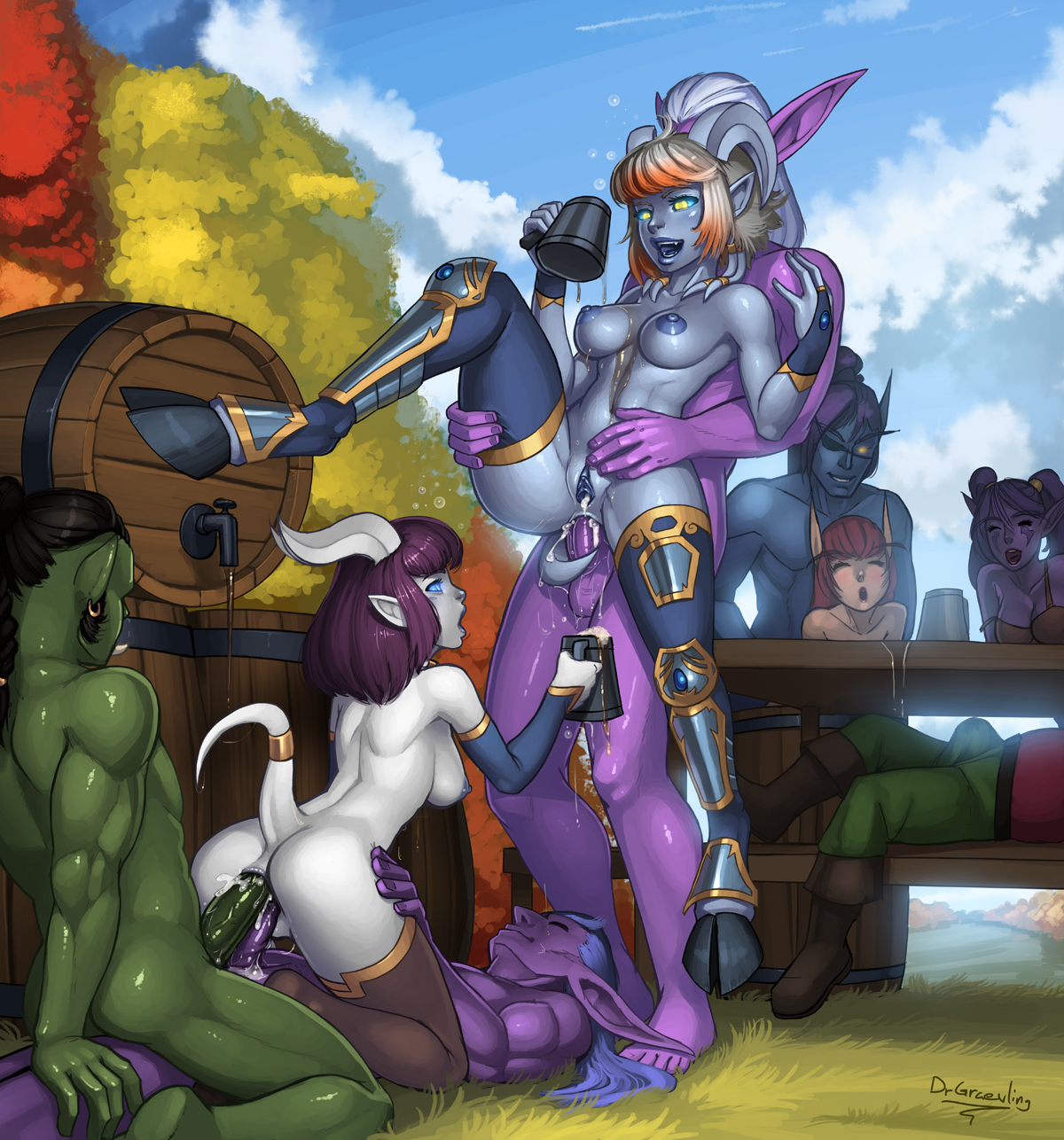 Wow draenei sex exposed gallery