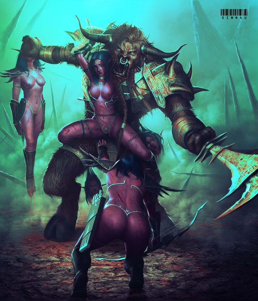 Wow porn tauren blood elf sexy photos