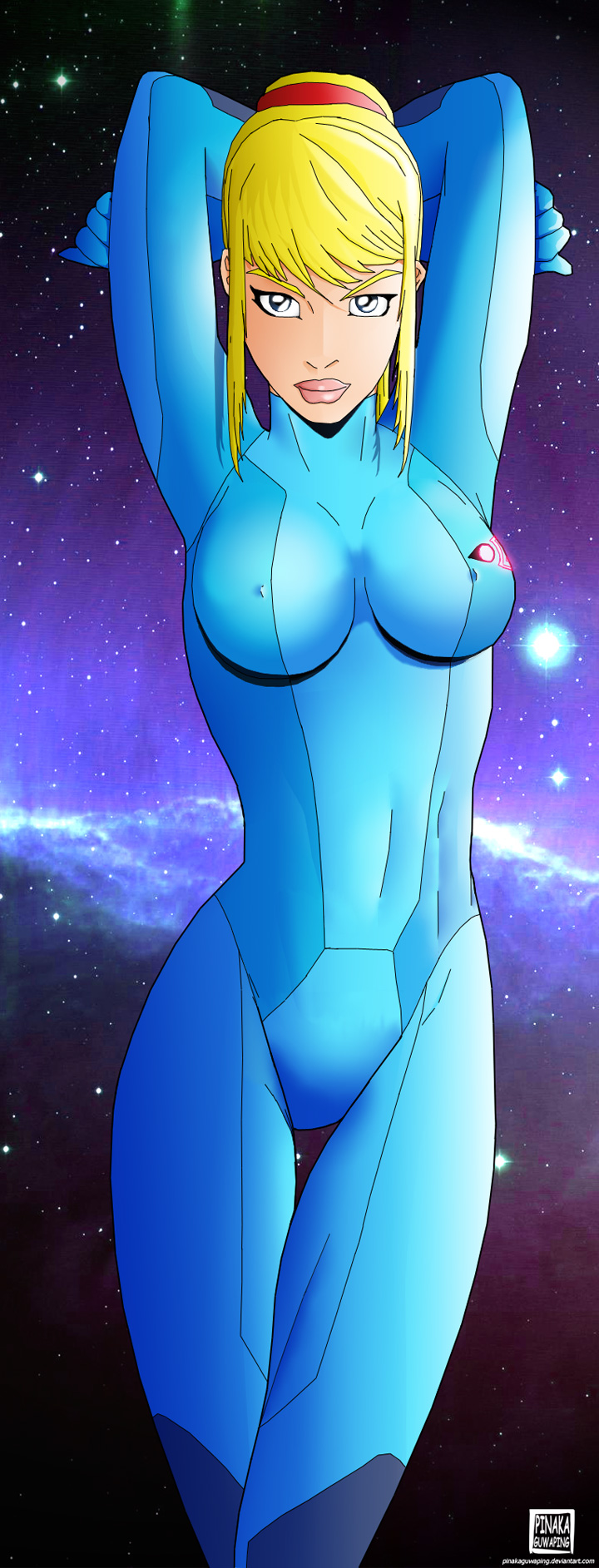 samus is naked