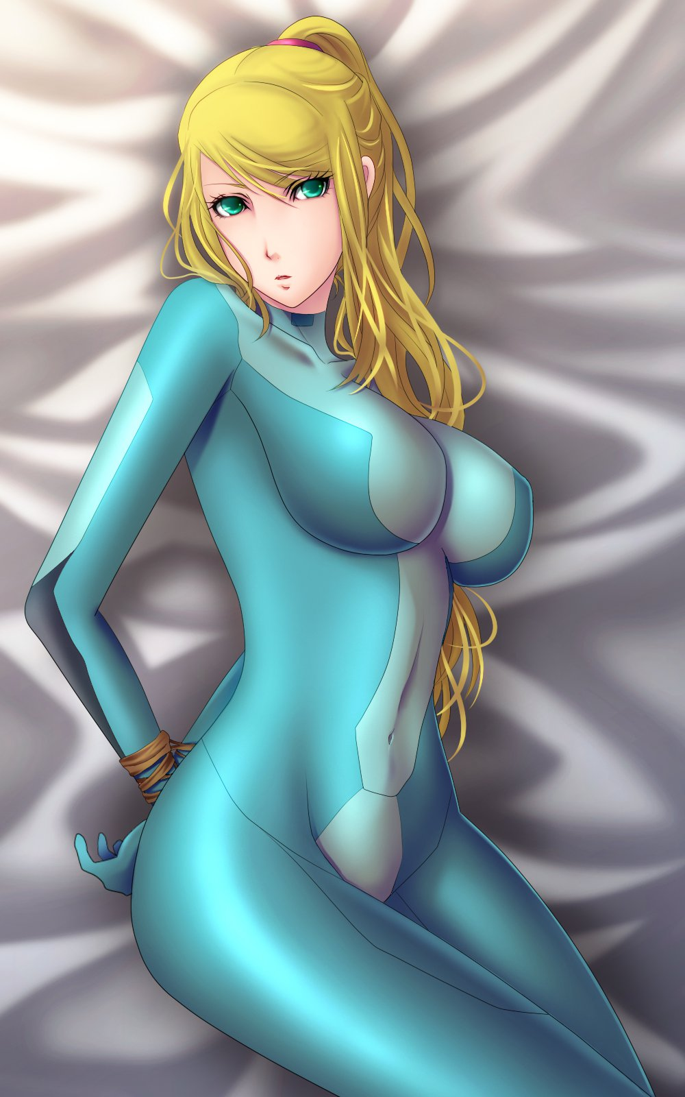 zero suit samus blowjob