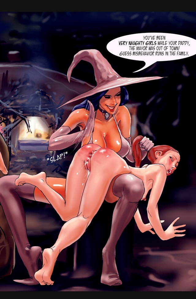 dark hentai hentai vol comics dark erotic witch westbrook