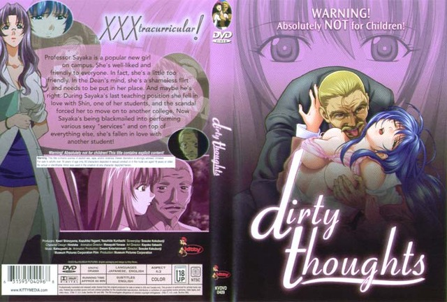 dirty thoughts hentai anime adult dvd dirty thoughts zoom