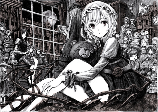 dollhouse hentai sample doll moe house gothic