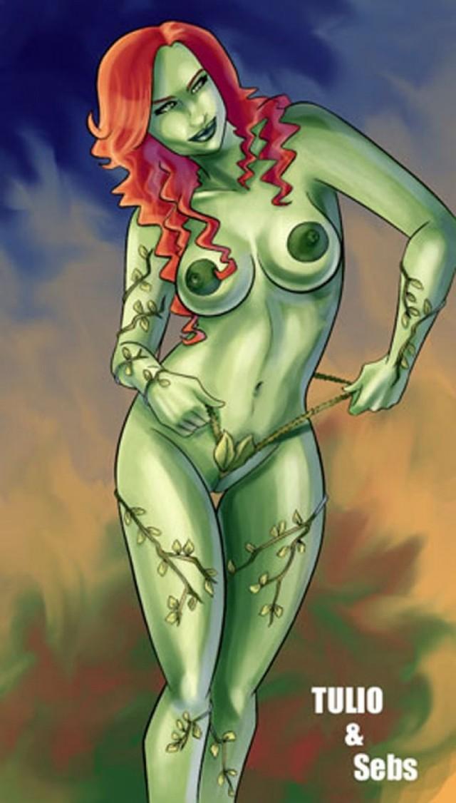 Big natural breasts slim