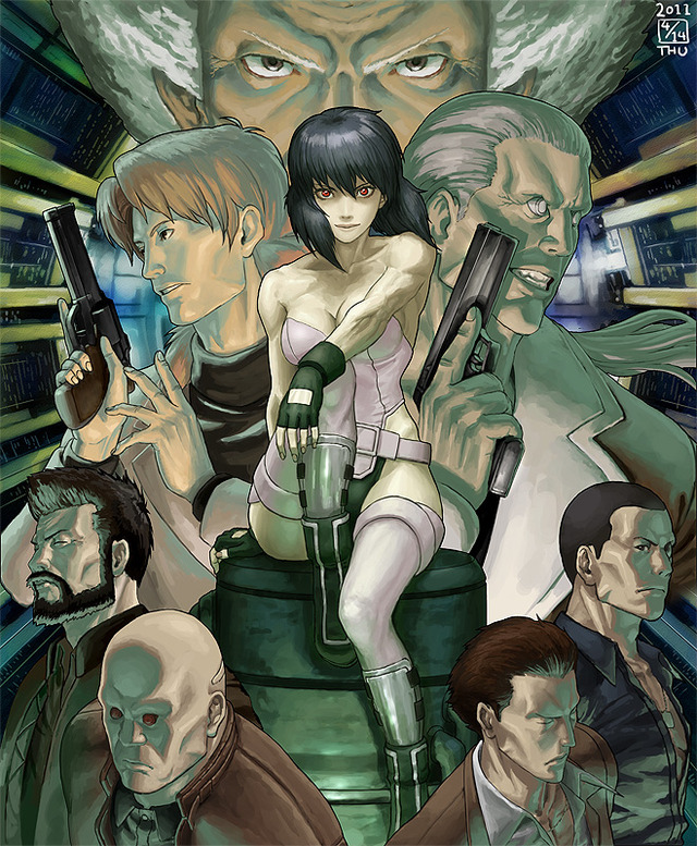 ghost in the shell hentai porn gallery misc ghost safe shell xii illustration studio ghibli ikeda