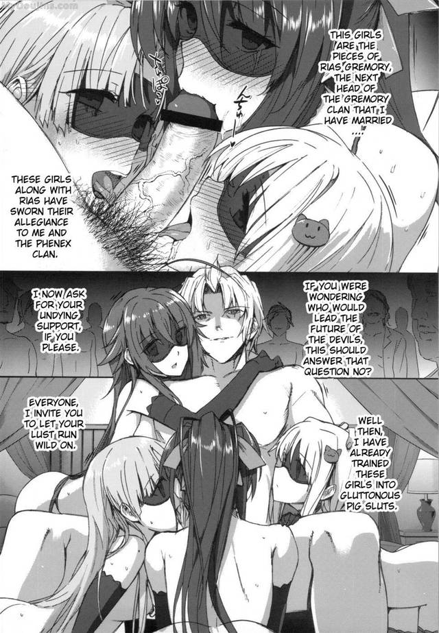 high school dxd hentai english school high doujins end dxif jxtpq