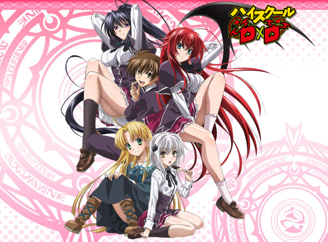 high school dxd ova hentai anime ecchi that series highschooldxd push limits