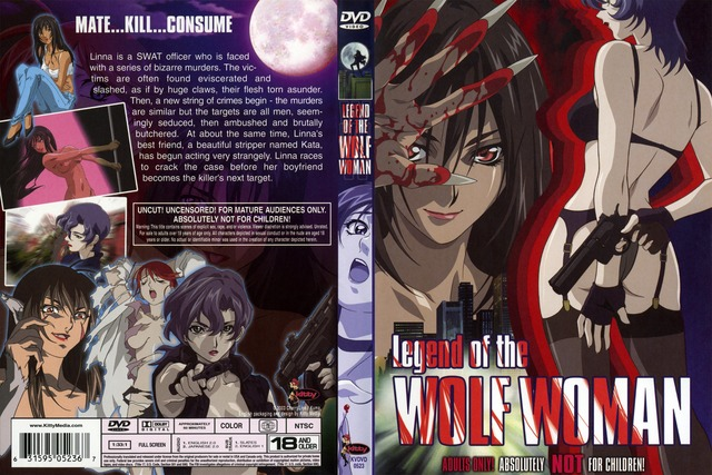legend of the wolf woman hentai anime woman japan legend kvdvd wolf