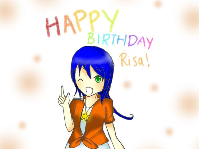 refrain blue hentai aka happy morelikethis artists blue rose gift birthday risa belated gracetan mizutone