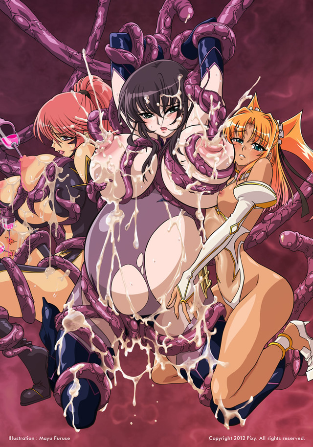 tentacle and witches hentai raw tentacle witches visual