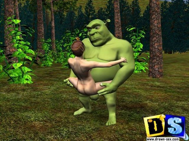 3d hentai adventure pictures naked nude shrek