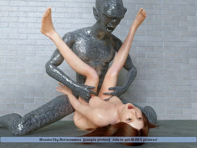3d hentai monster galleries moster