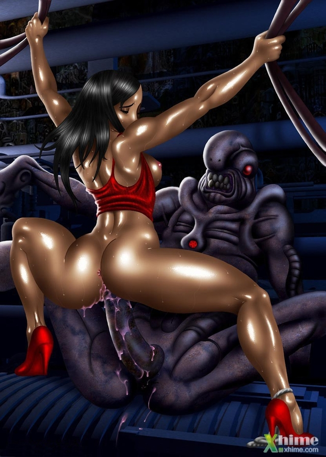 3d monster hentai pictures pics erotic monster scenes depicted