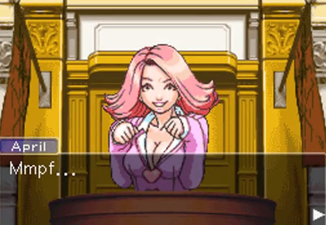 ace attorney hentai hentai ace april may sweetie wright phoenix attorney