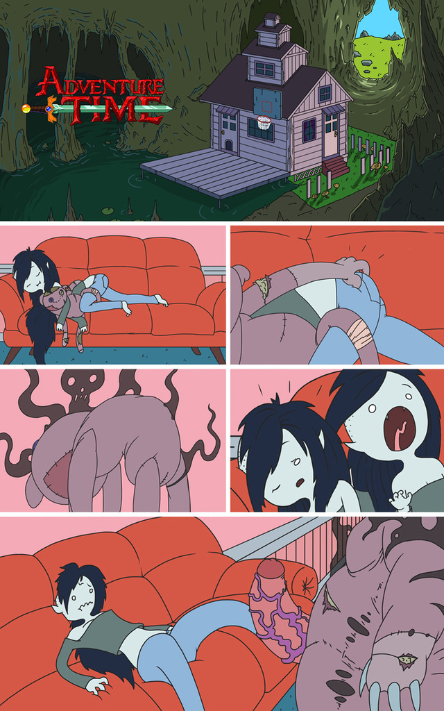 adventure time hentai images vol pictures user part comic mnogobatko marceline