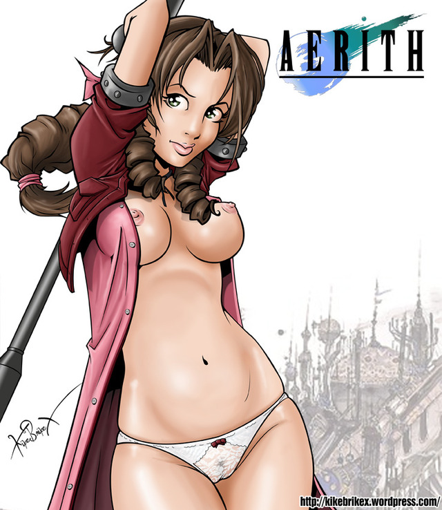 aerith gainsborough hentai gainsborough aerith montajeaerith