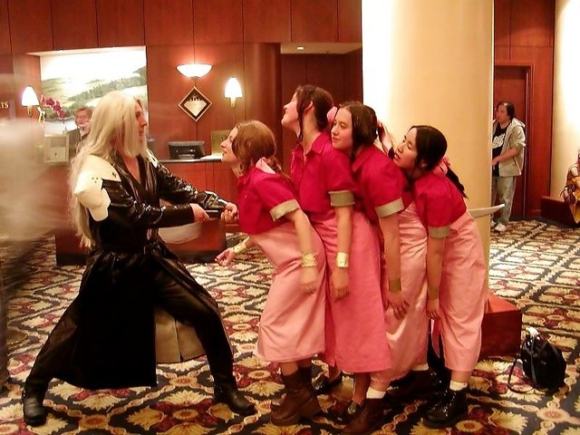 aerith gainsborough hentai final cosplay fantasy gainsborough aerith