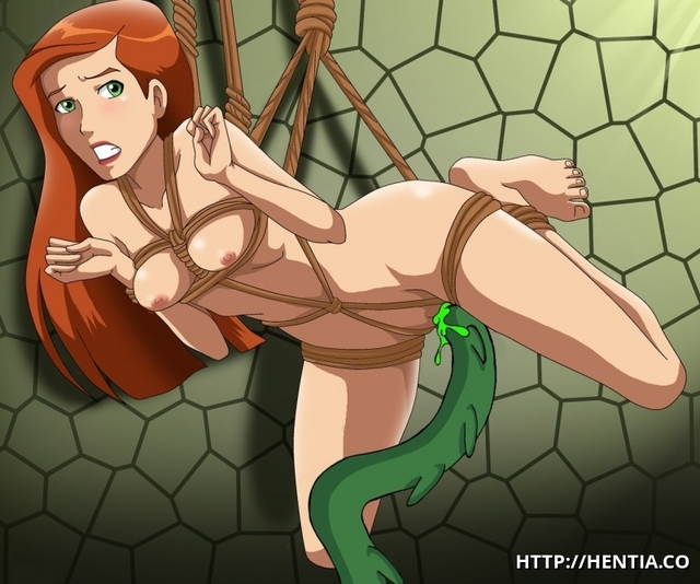 alien tentacle hentai comics porn alien tentacle ben nude fucked gets some green tied hentia gwen