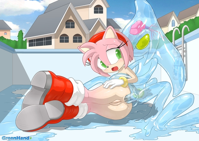 amy and sonic hentai hentai amy sonic team rose eca tails chaos greenhand daffda