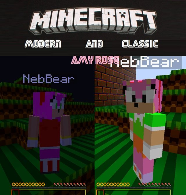 amy rose hentai game art amy pre classic rose skins minecraft modern andyi