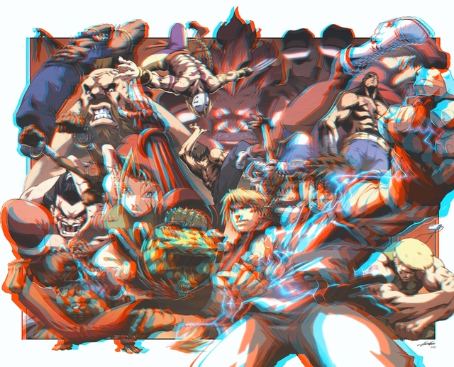 anaglyph hentai hentai blue red anaglyph