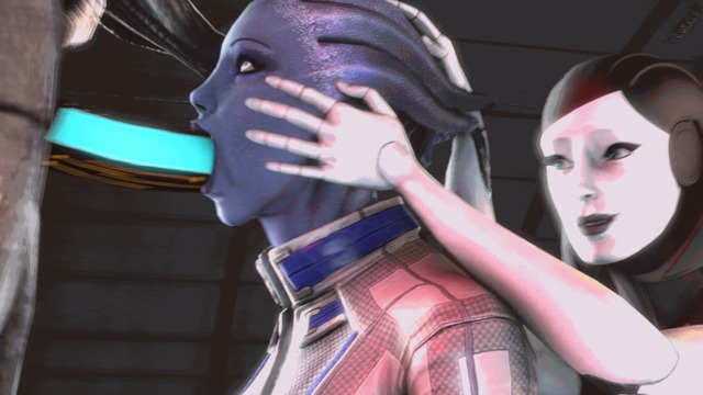 animated hentai 3d hentai animated cgi mass effect liara tsoni legion edi aarvark geth