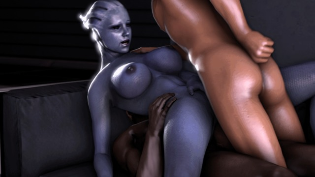 animated hentai 3d hentai animated cgi mass effect liara tsoni aardvark