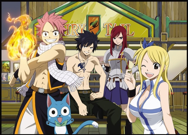 anime hentai fairy tail anime tail fairy friends march ends friendly wizards