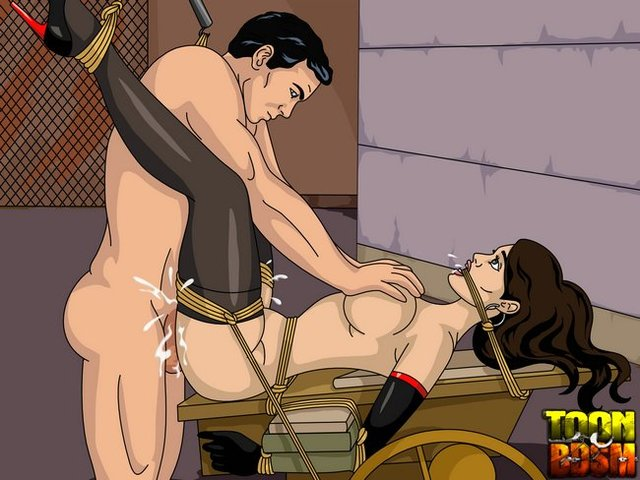 archer hentai porn media cartoon toonbdsm archer