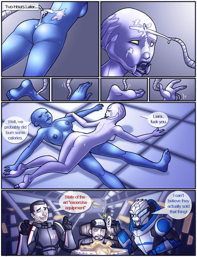 Sorry, Asari nude comic