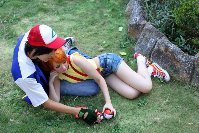 ash & misty hentai ash pokemon have misty ketchum