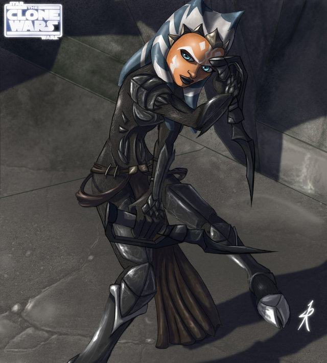 asoka hentai hentai from picture armor star cartoon demon wars ahsoka tano anakin skywalker raikoh