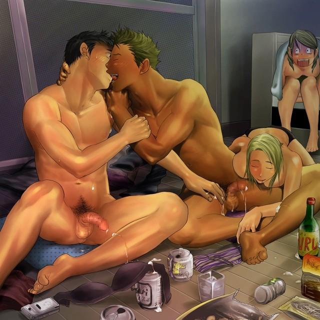 Gay bisexual hentai
