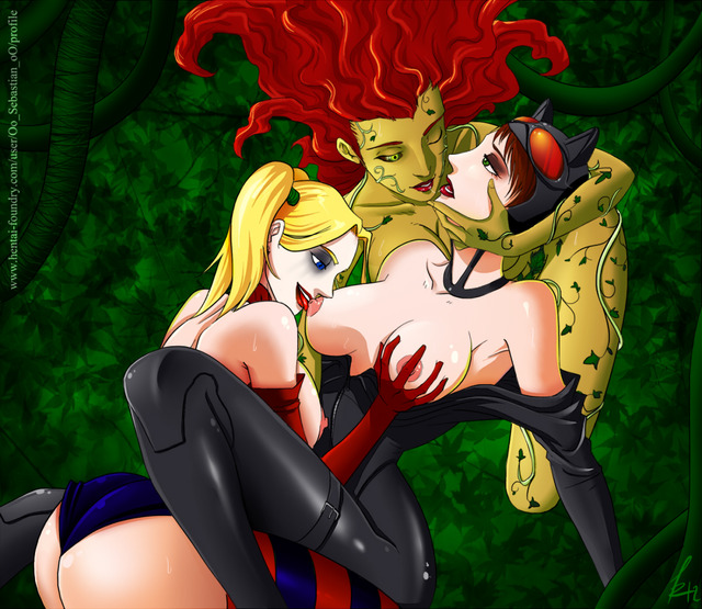batman poison ivy hentai collection video yuri game pictures user poison ivy catwoman harley quinn sebastian