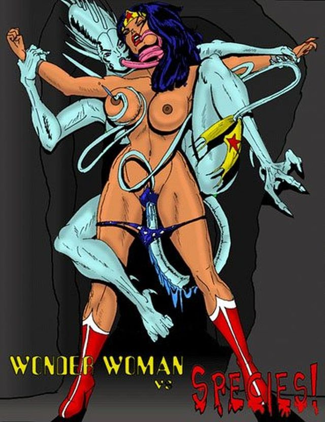 Wonder woman tied up hentai