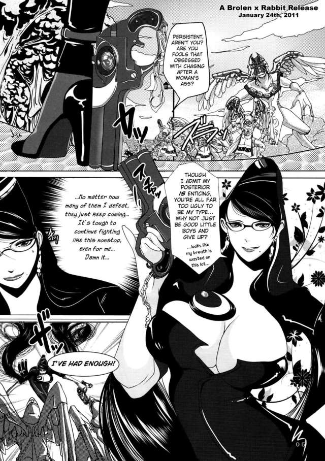 bayonetta hentai manga hentai witch unleashed