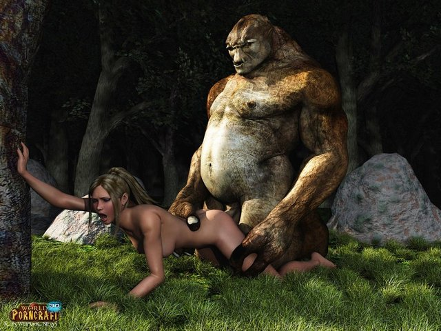 beast hentai porn watch best porn pics hot monster fucked forest straight slut