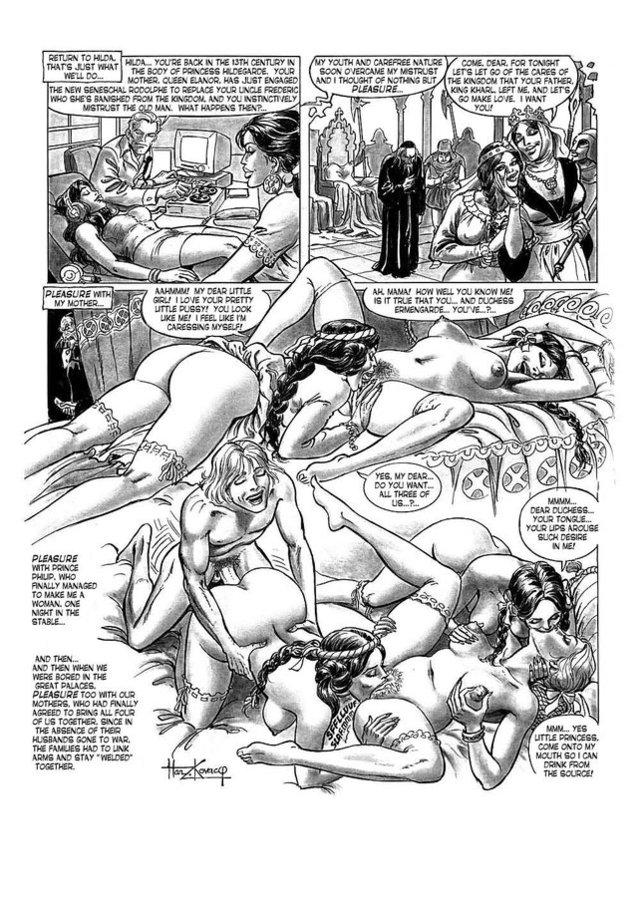 Beelzebub hilda hentai comic