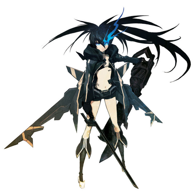 black rock shooter hentai black rock shooter faces many bkrkshfc