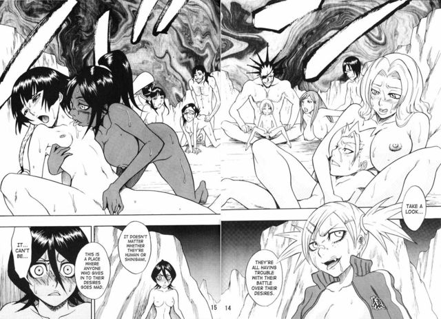 bleach hentai doujin hentai free original eng doujin media read bleach oni demon road michi