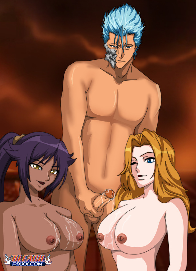bleach hentai page hentai day bleach lucky grimmjow grimmjows