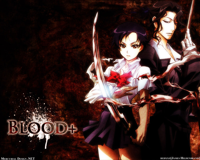 blood+ anime wallpapers blood safe