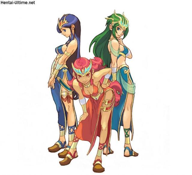 breath of fire hentai heroines fire jeux breath
