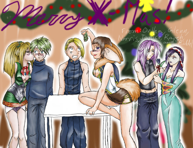 chrono cross hentai pre morelikethis artists christmas cross chrono teh nickith