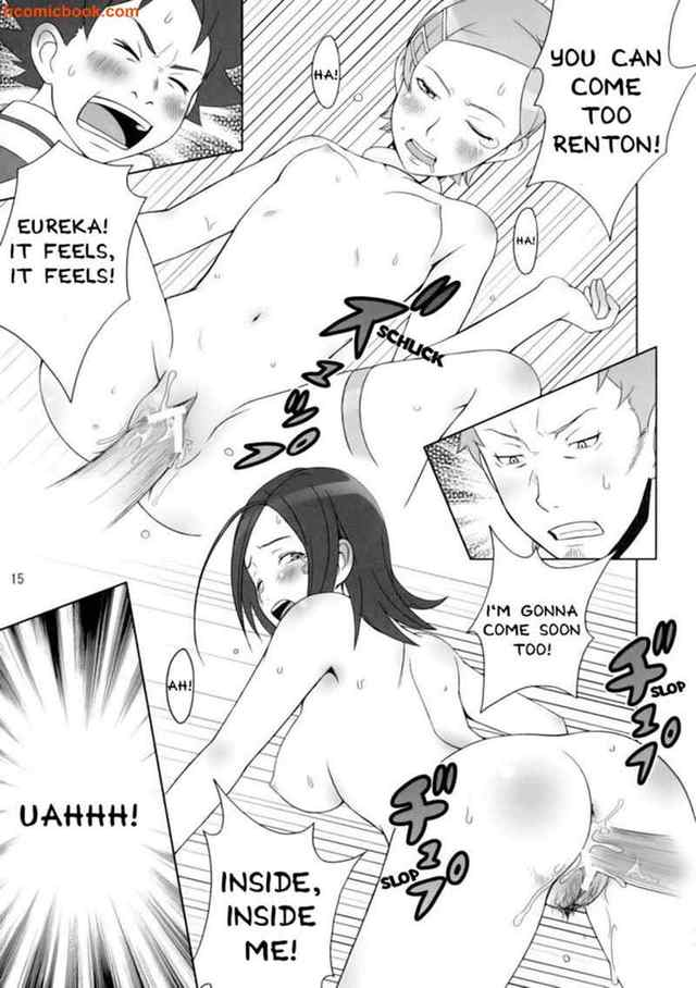 eureka seven hentai comic japan
