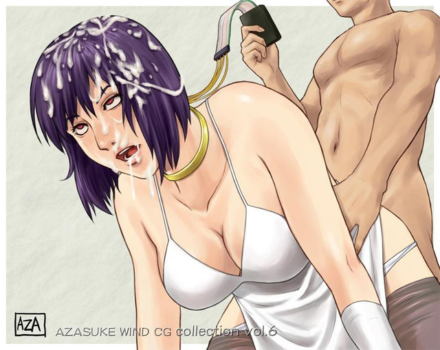 ghost in the shell hentai all category page breasts cleavage dblog fours azasuke cumdrip